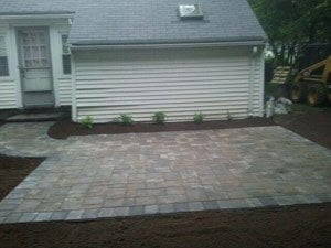 Constructing A Walkway Or Patio