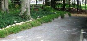 Crushed Stone Walkway