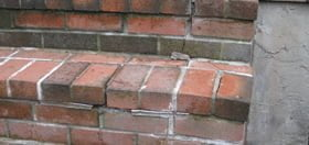 Brick Steps in Need of Repair or Replacement