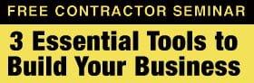 Free Contractor Seminar