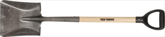 Shovel, D Handle Square Point