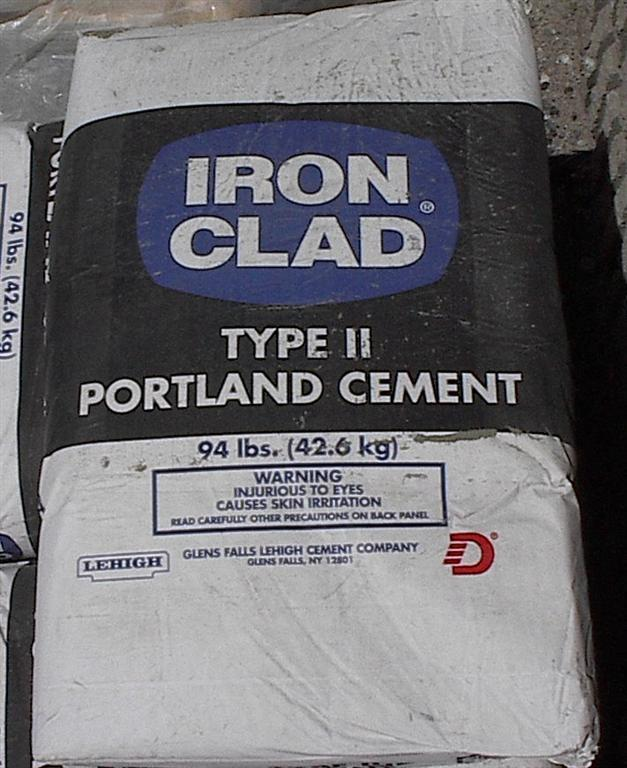 Portland Type I & II Cement