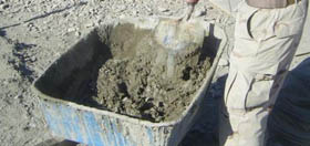 How to Hand Mix Concrete