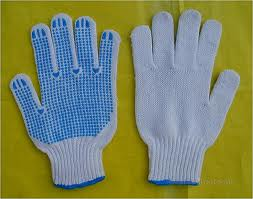 Gloves Blue Dip Large