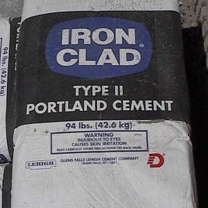 Portland Type I & II Cement