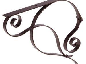 155 Iron Mailbox Bracket – Copper