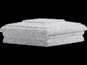 Granite Cap – 8″ Gray