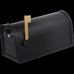 Cast Aluminum Mailbox – Black