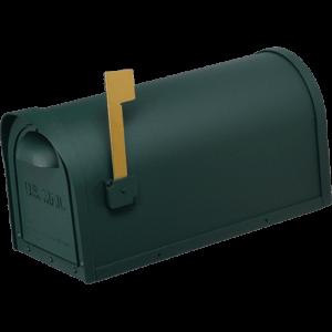 Cast Aluminum Mailbox – Green