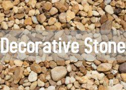 decorative stone button