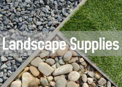landscaping supplies button