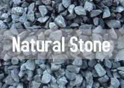 natural stone button