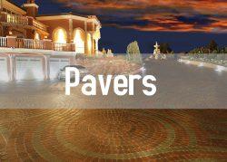 pavers button